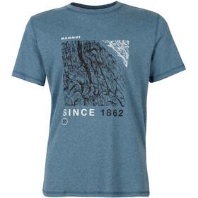 Mammut Sloper T-Shirt Men, sapphire melange